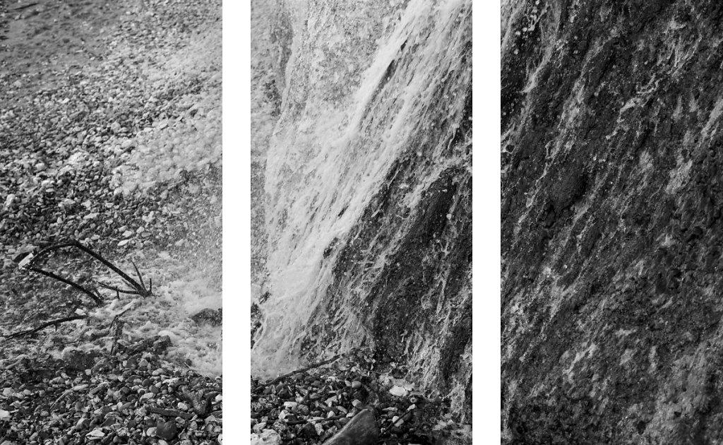 Mémento mori I / dim.80x120cm (3 panneaux de 80x40cm)