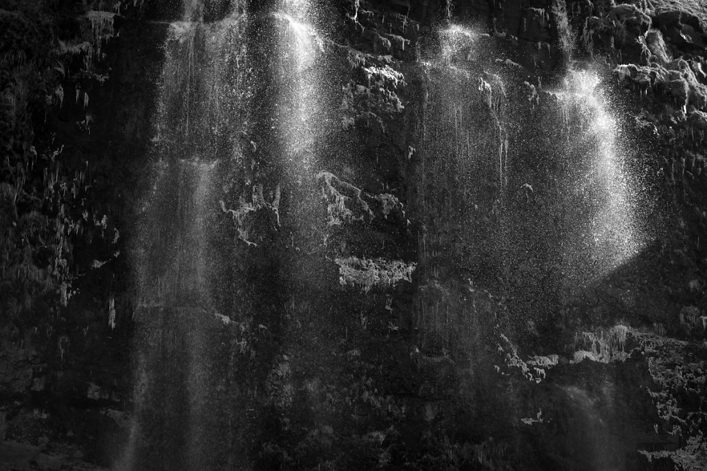 Islande / BW.VIII / A l'ombre de la lumière