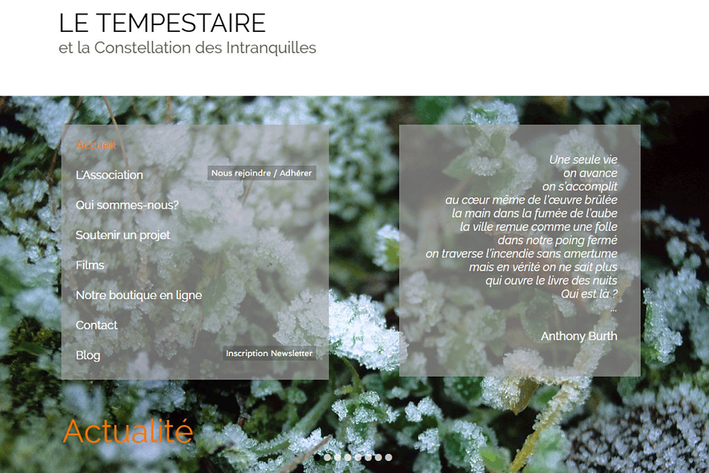 Le Tempestaire / Mars 2017