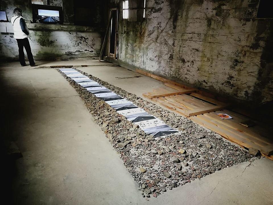 """The black ribbon"" n°2 - Artwork by Michel Handschumacher & Bruno Fleutelot , France"