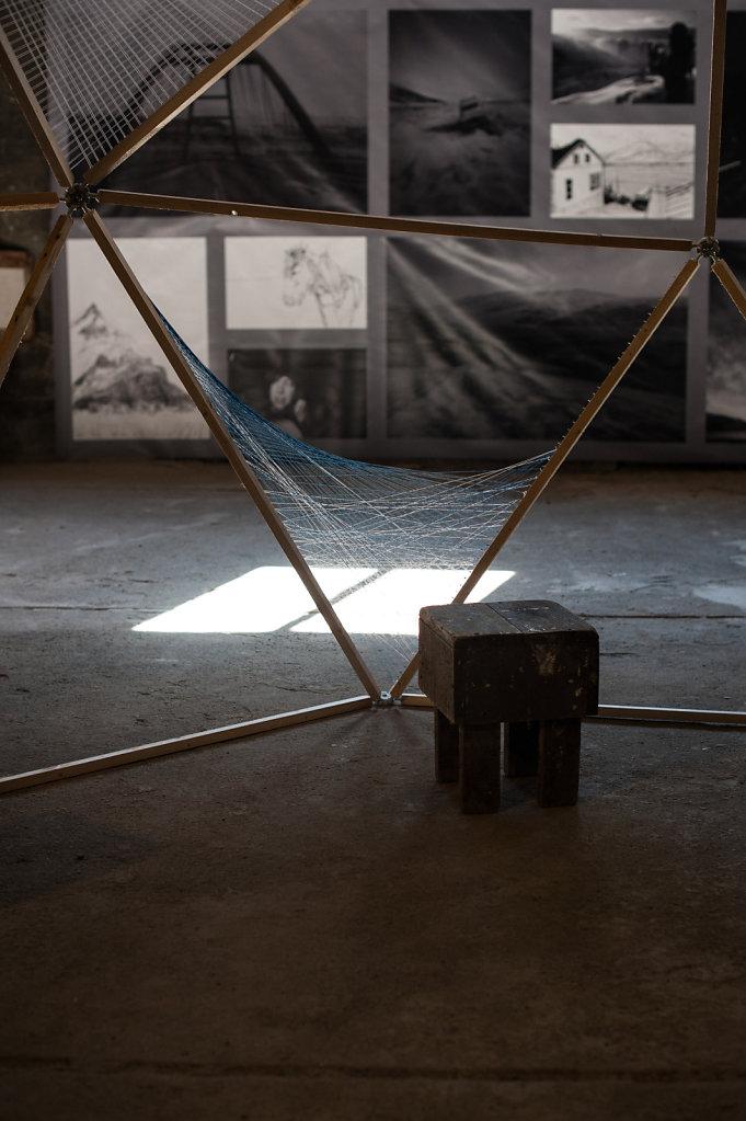 """In Isolation"" n°1 - Artwork by Reza Kalfane, France – Randy Antonia Lott & Julie Dodge, Usa"