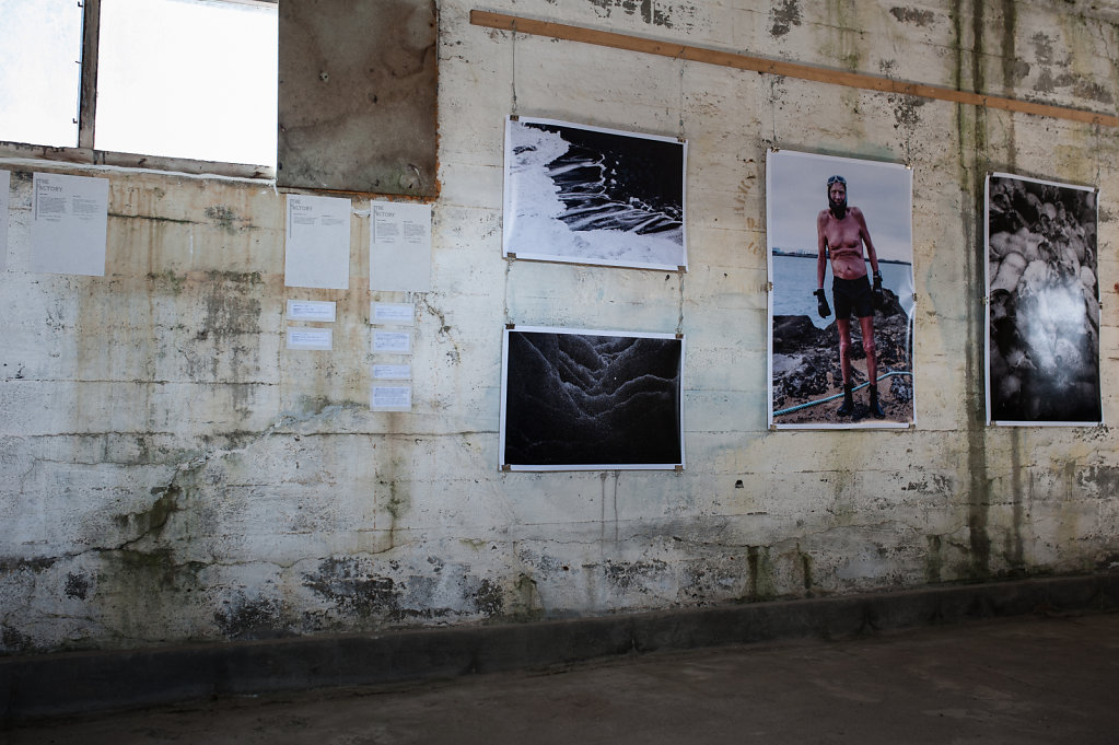 """Land and haf"" n°1 - Artwork by Katja Hasenöhrl, Australia"