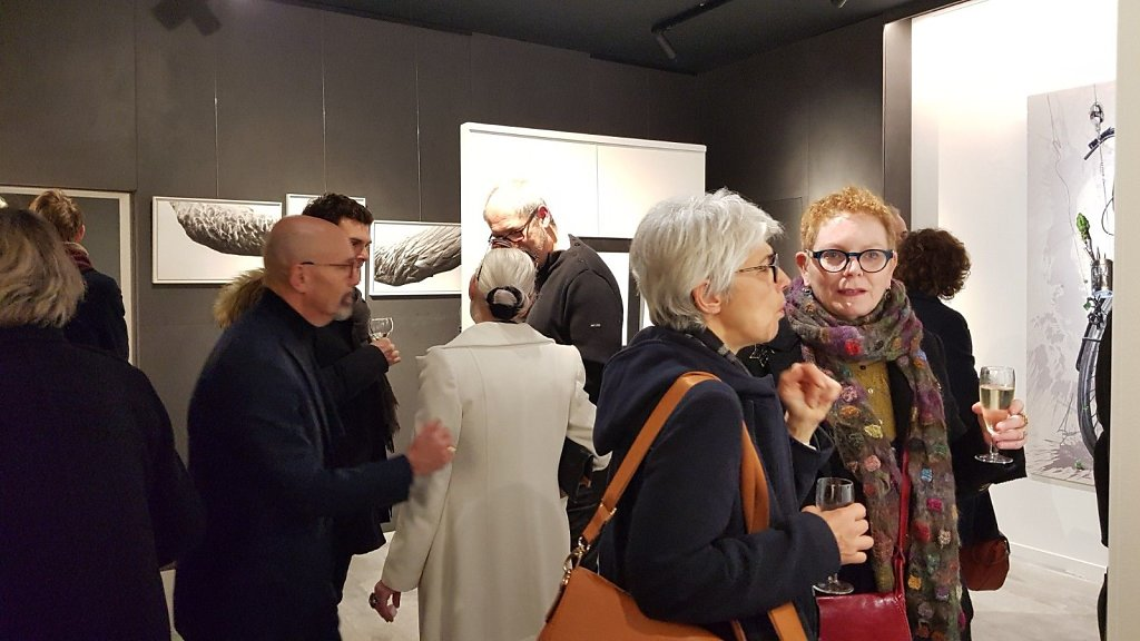 03 - NARRATIONS EPHEMERES - Galerie Murmure, Colmar - Vernissage 31 janvier 2020
